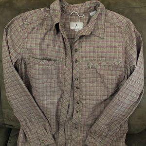 Royal Robbins Flannel Plaid Shirt